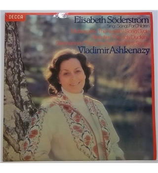 'Songs for Children' Soderstrom, Elisabeth - SXL 6900