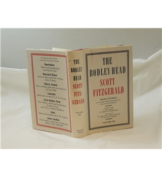 Scott Fitzgerald Short Stories Bodley Head Vol 6 Basil & Josephine & Last Act & Epilogue good in good d/j