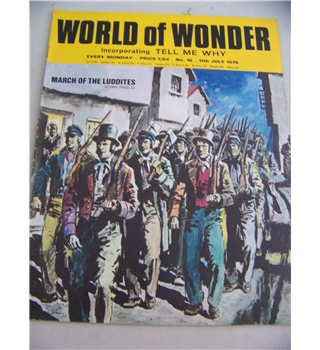 World of Wonder magazine, No 16, 11 July 1970