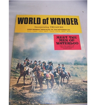World of Wonder magazine, No 79, 25 September 1971