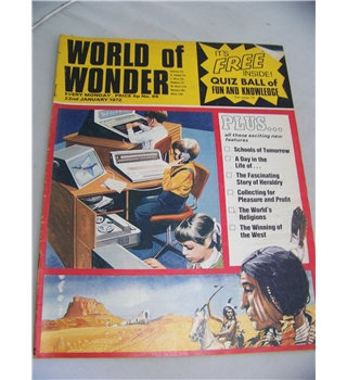 World of Wonder magazine, No 95, 15 January 1972