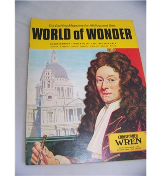 World of Wonder magazine, No 120, 8 July 1972