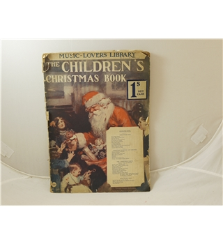 The Children's Christmas Book Music Lovers Library No. 100 George Newnes c 1910 scarce title