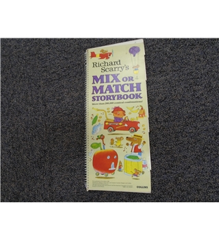 Richard Scarry's mix or match storybook