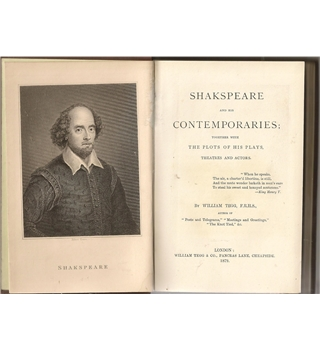 Shakspeare and his Contemporaries