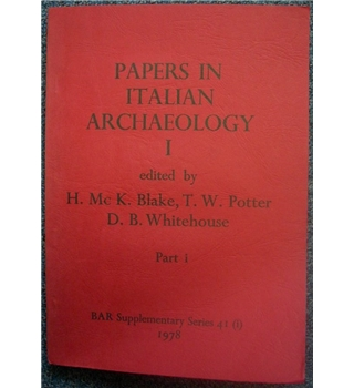 Papers in Italian Archaeology 1