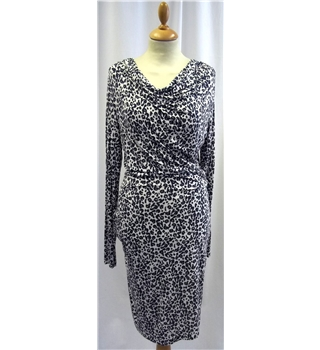 In Wear - Size: XS - Grey and white - Dress