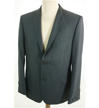 "Ted Baker Size: Large, 42"" chest, tailored fit Charcoal Grey Smart/Stylish Wool Designer Single Breasted Jacket."