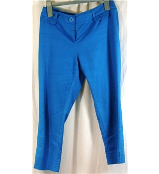 Warehouse Size 10 Petite cropped trousers