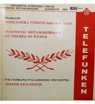 Hindemith: Nobilissima Visione, Symphonic Metamorphoses on Themes of Weber