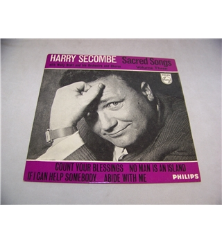"sacred songs vol 3 harry secombe (7"" EP single) - bbe 12470"