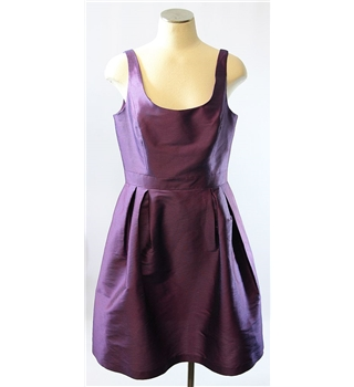 BNWT Alfred Sung Designer 'Mikado' Bridesmaid's Dress - Size 14 - Cardinal Alfred Sung - Size: 14 - Purple - Dress /  gown
