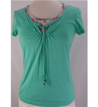 Esprit - Size: XS - Soft Green layered top