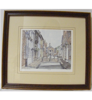 Poole Signed Limited Edition Print Philip Martin