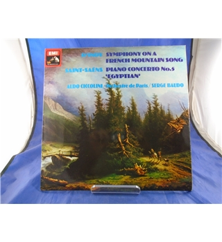 D'Indy: Symphony on a French Mountain Song / Saint-Saens: Piano Concerto No 5 Serge Baudo - ASD3480