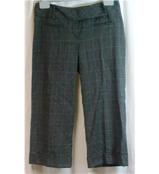New Look Size 10 Grey Trousers New Look - Size: M - Grey