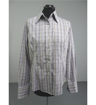T.M Lewin Size 12 Check Long sleeved shirt