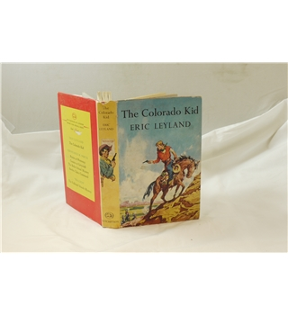 The Colorado Kid by Eric Leyland 1960 good with good d/j Hutchinson