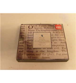 Elgar The Kingdom Coronation Ode Adrian Boult Shirley-Quirke Felicity Lott London Philharmonic EMI 2 cd set CMS 7 64209 2