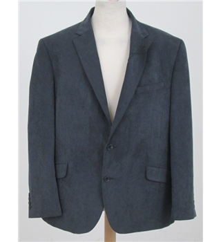 NWOT M&S Collection size L grey single breasted blazer