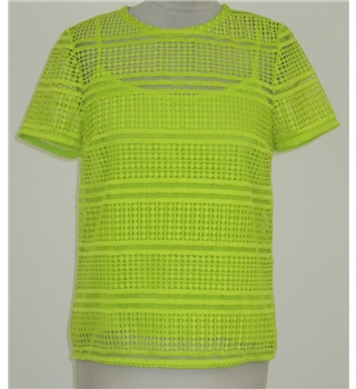 NWOT M&S size: 10 lime green top