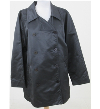 Fenn Wright & Manson for Harrods size 12 black rain jacket