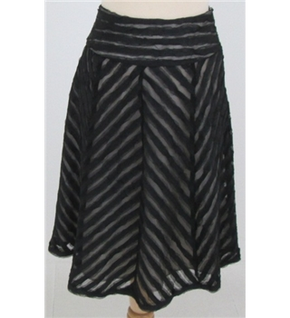 BNWT Bravissimo size: 8 black knee length skirt
