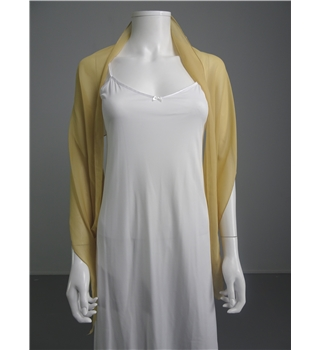 Lovely Sand Chiffon Light Weight Scarf