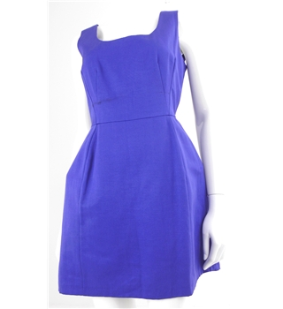 Oasis Size 12 Royal Purple Dress