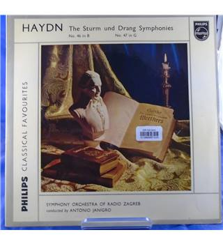 Haydn: The Sturm and Drang Symphonies Antonio Janigro - GL 5785