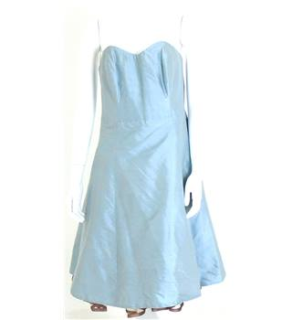 "Unbranded Size 10 Chest 30"" Mint Green Strapless Dress"