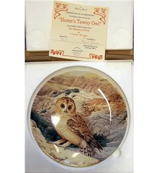 Wedgwood The Majesty Of Owls - Hume's Tawny Owl