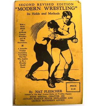 Modern Wrestling Its Holds and Methods