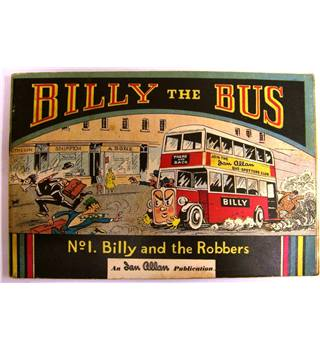 Billy The Bus No.1 Billy and the Robbers