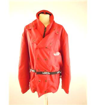 Red Tecno Stop Motorcycle Jacket - Size: XXL