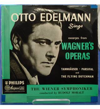 Otto Edelmann sings excerpts from Wagner's operas/ Rudolf Moralt - ABR 4030
