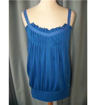 numph - Size: M - Blue - Sleeveless top