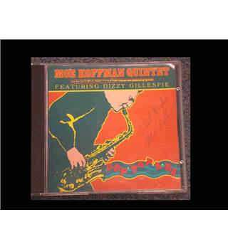 The Moe Koffman Quintet Featuring Dizzy Gillespie CD SIGNED by Moe Koffman