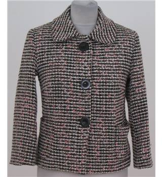 Betty Jackson size: 8 black/pink mix smart jacket