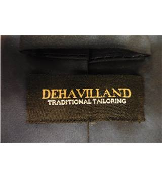 Dehavilland Classic Navy Blue Luxury Silk Tie