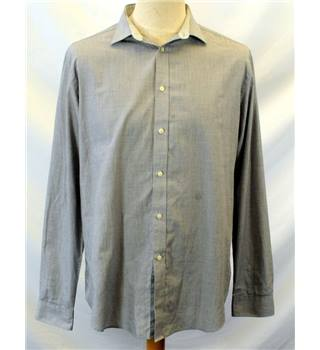 Redherring Slim-fit Grey Long-Sleeve Shirt - 17.5'' neck Debenhams - Size: L - Grey - Long sleeved