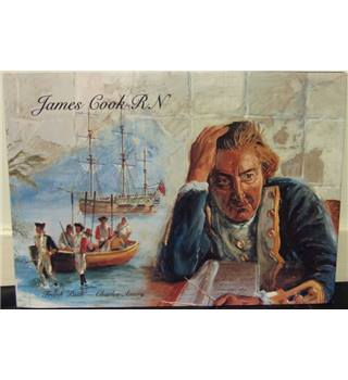 James Cook RN - signed by Illustrator