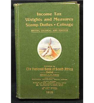 Income Tax Weights and Measures Stamp Duties. Coinage