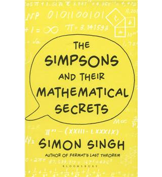 The Simpsons and their mathematical secrets.  Signed copy