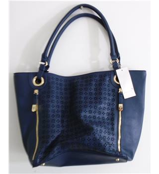 NWOT Per Una navy blue shopper bag