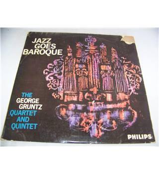 jazz goes baroque george gruntz quartet and quintet - bl 7645