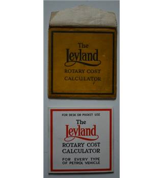 The Leyland Rotary Cost Calculator