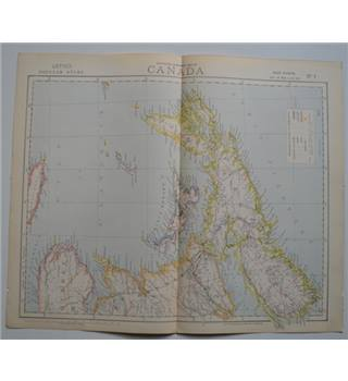 Letts's Map 1881  -  Canada (Nova Scotia)