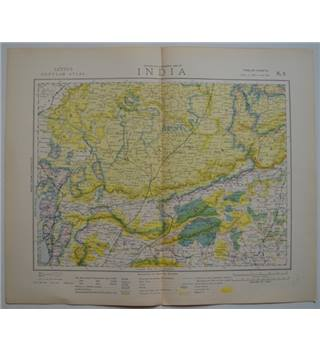 Letts's Map 1881  - India (East, Central)