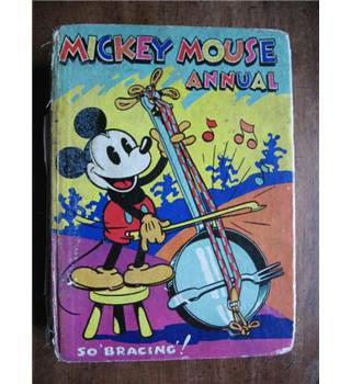 "Mickey Mouse Annual. So ""Bracing""!"